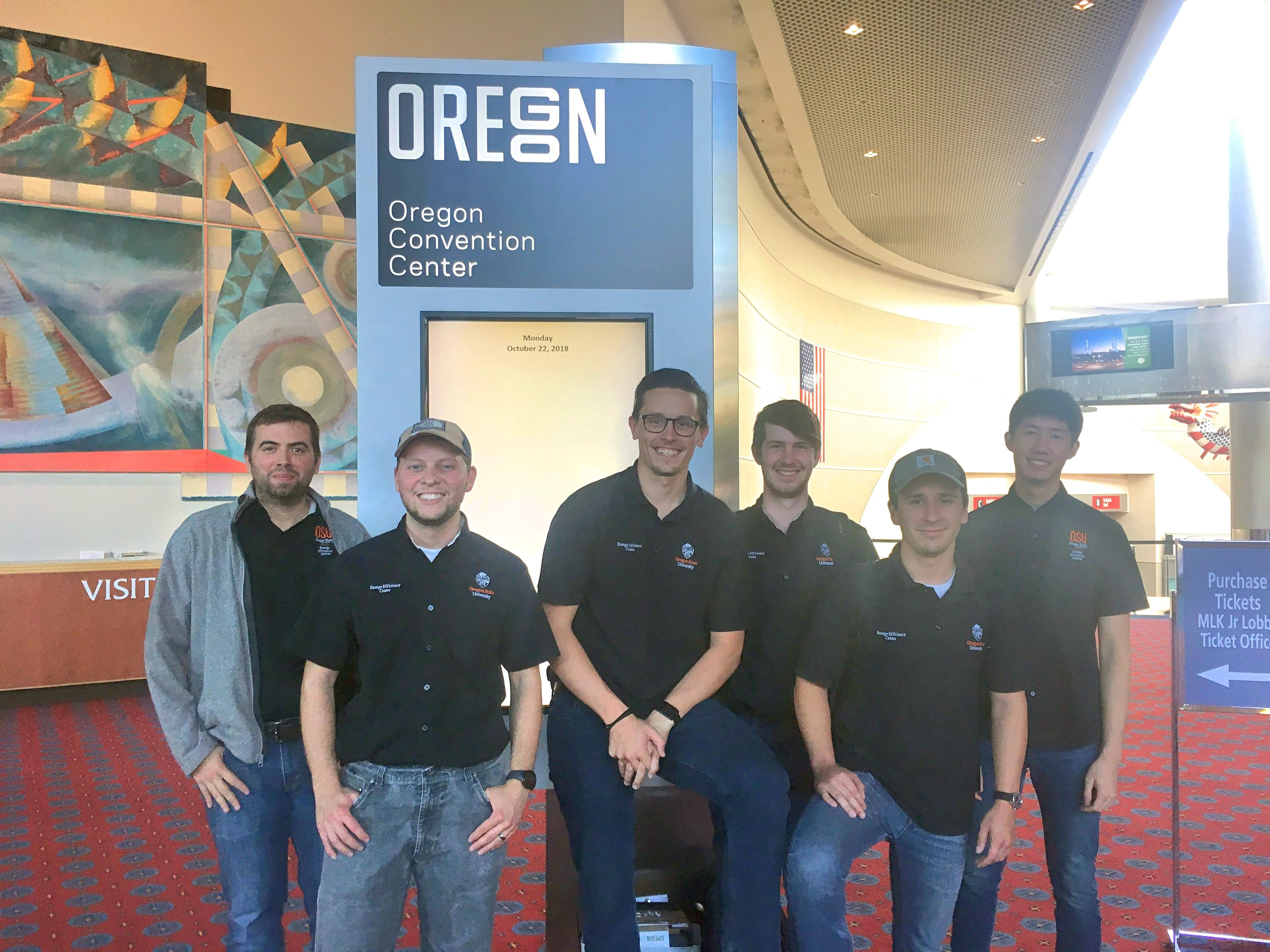 EEC Analysts at Oregon Convention Center