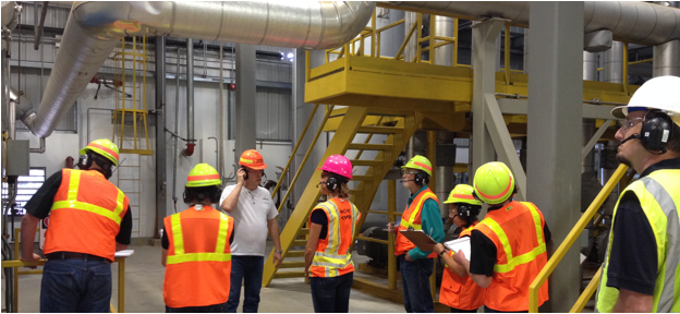 OSU Energy Efficiency Center conducting an industrial energy efficiency audit